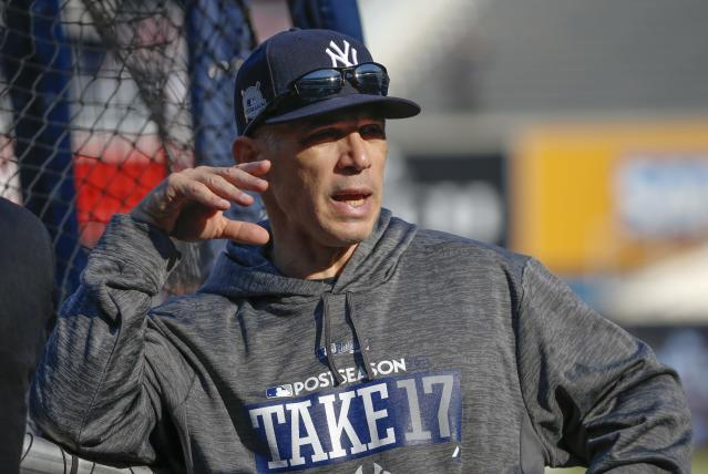 Joe Girardi probably won't be the next manager of the Nationals. (AP Photo)