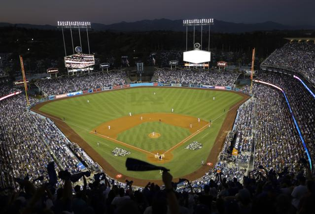 The Dodgers will host the 2020 All-Star Game. (AP Photo)