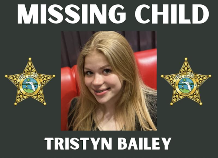 <p>Police have charged a teenage suspect with the murder of 13-year-old Tristyn Bailey</p> (St Johns County Sheriff's Office)