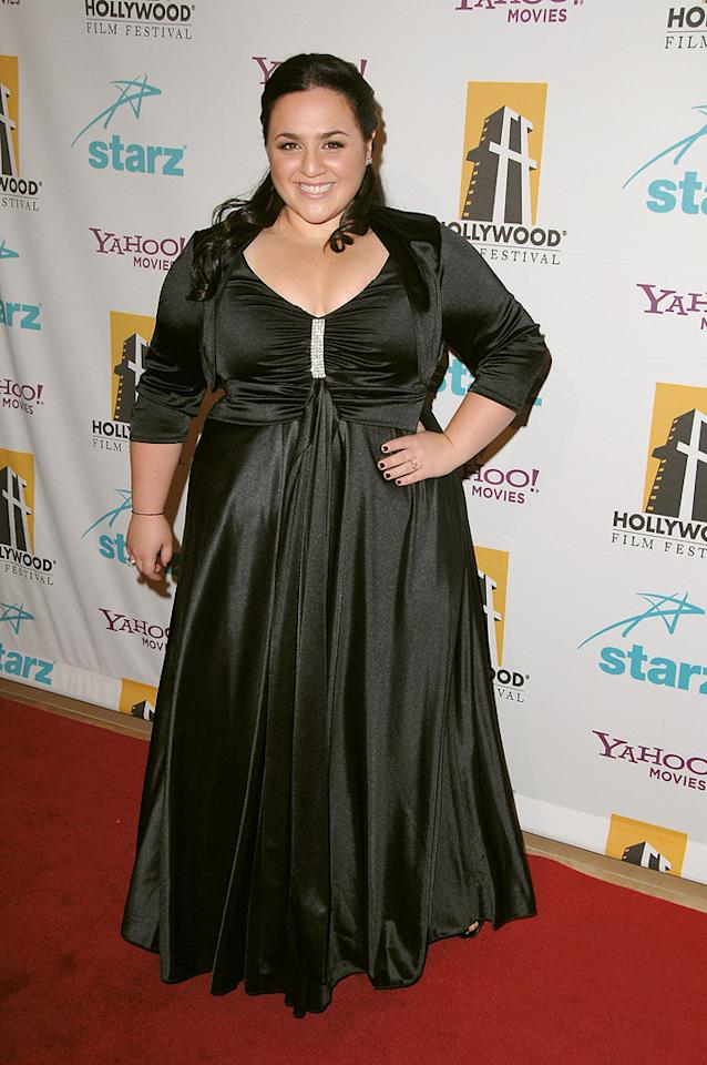 """<a href=""""http://movies.yahoo.com/movie/contributor/1809707426"""">Nikki Blonsky</a> at the Hollywood Film Festival's Hollywood Awards in Beverly Hills - 10/22/2007"""