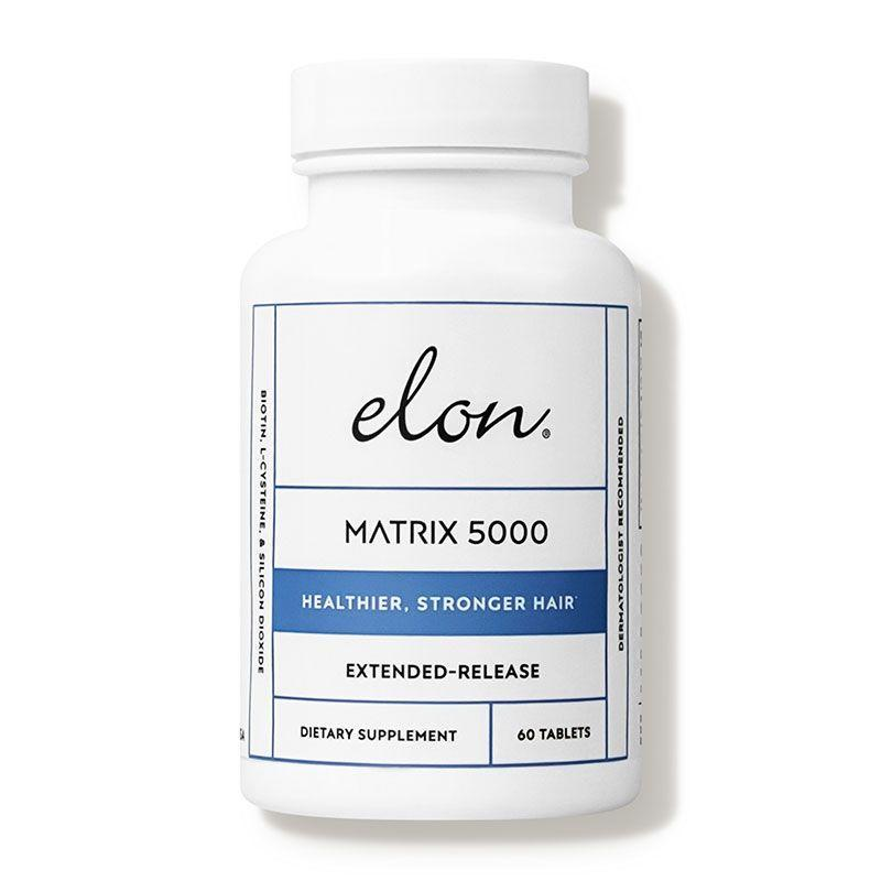 """<p><strong>Elon</strong></p><p>dermstore.com</p><p><strong>$29.99</strong></p><p><a href=""""https://go.redirectingat.com?id=74968X1596630&url=https%3A%2F%2Fwww.dermstore.com%2Fproduct_Matrix%2B5000%2B%2BVitamins%2Bfor%2BHair_6879.htm&sref=https%3A%2F%2Fwww.harpersbazaar.com%2Fbeauty%2Fhair%2Fg7807%2Fhair-growth-vitamins%2F"""" rel=""""nofollow noopener"""" target=""""_blank"""" data-ylk=""""slk:Shop Now"""" class=""""link rapid-noclick-resp"""">Shop Now</a></p><p>The combination of a high dose of biotin with silicone dioxide and l-cysteine helps strengthen hair, skin and nails so they're less prone to breakage and therefore grow longer. Take the pills once a day for at least a few months to notice results. </p>"""