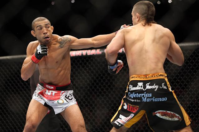 UFC champ Jose Aldo: 'I feel underpaid'