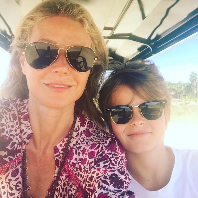 Gwyneth Paltrow's Son, Moses, Is All Grown Up in This Precious Birthday Photo
