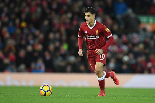"""<a class=""""link rapid-noclick-resp"""" href=""""/soccer/players/philippe-coutinho/"""" data-ylk=""""slk:Philippe Coutinho"""">Philippe Coutinho</a> has played his last game for <a class=""""link rapid-noclick-resp"""" href=""""/soccer/teams/liverpool/"""" data-ylk=""""slk:Liverpool"""">Liverpool</a>. The Reds and <a class=""""link rapid-noclick-resp"""" href=""""/soccer/teams/barcelona/"""" data-ylk=""""slk:Barcelona"""">Barcelona</a> have agreed to a fee for the Brazilian. (Getty)"""