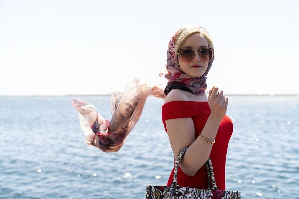 <p><strong>Release date: TBC</strong></p><p>Julia Garner stars as Anna Delvey, the Instagram-legendary German heiress who stole the hearts of New York's social scene – and stole their money too in Netflix's Inventing Anna. </p><p>The Netflix series - inspired by the New York Magazine article How Anna Delvey Tricked New York's Party People by Jessica Pressler - explores whether Anna was New York's biggest con woman or the new portrait of the American dream. </p><p>Netflix adds: 'Anna and the reporter form a dark, funny love-hate bond as Anna awaits trial and our reporter fights the clock to answer the biggest question in NYC: who is Anna Delvey?'</p><p>The drama is created by Shonda Rhimes. </p>