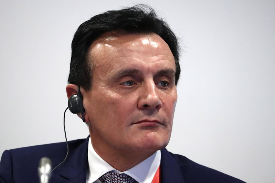 AstraZeneca CEO Pascal Soriot. Photo: Anton Novoderezhkin\TASS via Getty