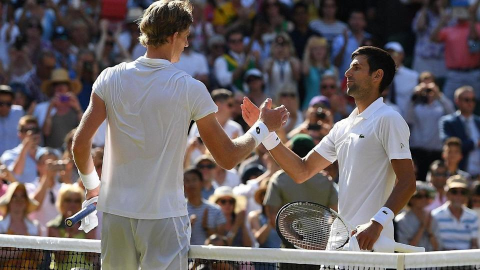 2021 Wimbledon: Djokovic eases past Anderson, proceeds to third round