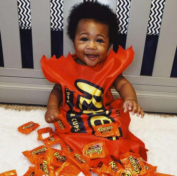 PHOTO: Cairo's mom Erica Allen dressed him up as a Reese's chocolate bar. (Courtesy Erica Allen)