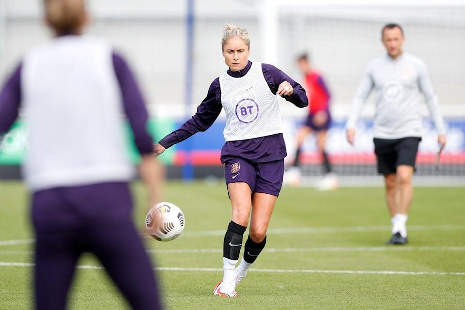 Captain Steph Houghton has been ruled out of England's World Cup qualifiers  (The FA via Getty Images)