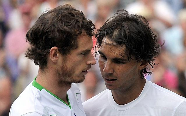 """The world No. 1 Rafael Nadal gave an unexpected glimpse yesterday into the mindset of his old friend and rival Andy Murray. And although Nadal was sympathetic and supportive, his comments were not wholly encouraging about the state of Murray's troublesome right hip. A couple of hours after crushing world No. 7 Dominic Thiem by a devastating 6-0, 6-2 scoreline, Nadal was asked whether the leading players ever exchanged information about injuries and medical techniques. In reply, he revealed some details of a phone call that he and Murray had shared earlier this month. """"I spoke with him [Murray] with the phone two weeks ago,"""" said Nadal. """"Doesn't matter if we are rivals, for me the friendship is before the tennis court. If any player have any doubts about the injuries or treatment that I do, I am always very happy to tell them my experience. I tell him the things that I think worked for me. Then, of course, he has his group and he will decide. """"I have been in that situation,"""" added Nadal. """"I know how tough and frustrating is when you work every day and you don't see the light of how to improve. You don't see any improvements. But then one day trying things, trying treatments, one day things are going better, no? That's what I really hope about him because he is important, very important, for our tour."""" Murray has not been forthcoming about the progress of his latest recovery from surgery Credit: GETTY IMAGES A fortnight ago, Murray would have been coming towards the end of a short training block at the Mouratoglou Tennis Academy in Nice, just 15 miles or so from the Monte Carlo Country Club, where Nadal is now carrying all before him. That visit began with a sense of optimism and a flow of social-media posts. Since then, though, the shutters have come down once again, rather as they did before Christmas when Murray began to feel reservations about his scheduled comeback date in Brisbane at the start of the year. The clock continues to tick as we move towards the start"""