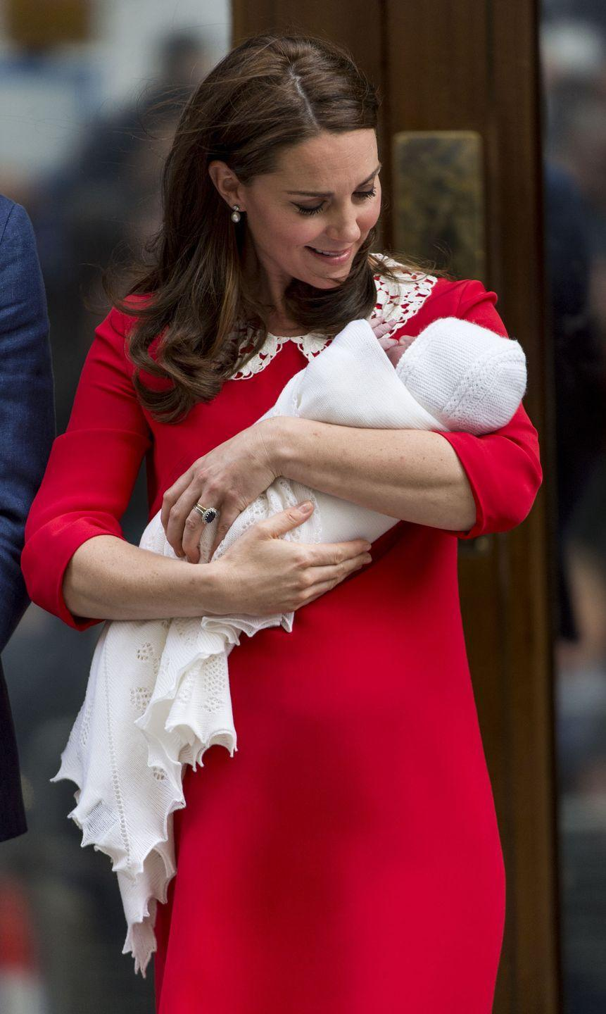 <p>For years, it's been tradition for royal mothers to make an appearance hours after giving birth for an official royal photo call. For Prince Louis' birth last year, people including Keira Knightley criticized the Duchess for setting unrealistic expectations for new mothers. Many praised the Duchess of Sussex for choosing to wait longer before stepping out in full hair and makeup. </p>
