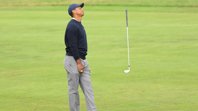 Tiger Woods stumbles back in second round of 2020 PGA Championship