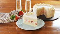 """<p>Forgo your usual glass of bubbly for something a little sweeter.</p><p>Get the recipe from <a href=""""https://www.delish.com/cooking/recipe-ideas/a26044022/champagne-cake-recipe/"""" rel=""""nofollow noopener"""" target=""""_blank"""" data-ylk=""""slk:Delish"""" class=""""link rapid-noclick-resp"""">Delish</a>.</p>"""