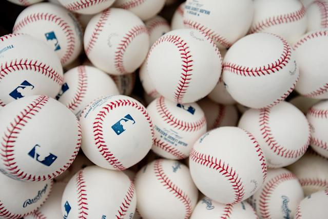 MLB has commissioned Rawlings to produce a ball with natural tack on the leather. (Getty Images)