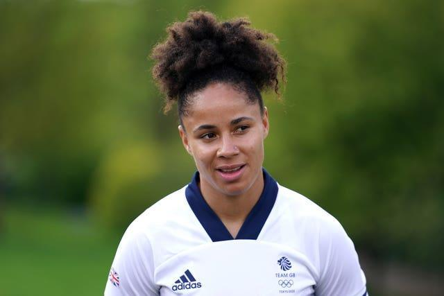 Demi Stokes was part of Great Britain's squad at the Tokyo Olympics (Zac Goodwin/PA).