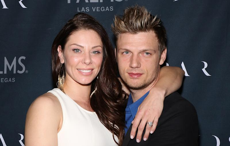 Nick Carter announced the sad news on Twitter. More