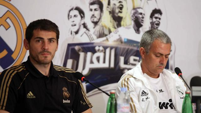 While Iker Casillas and Jose Mourinho clashed at Real Madrid, the goalkeeper was determined to avoid a bigger issue by keeping quiet.