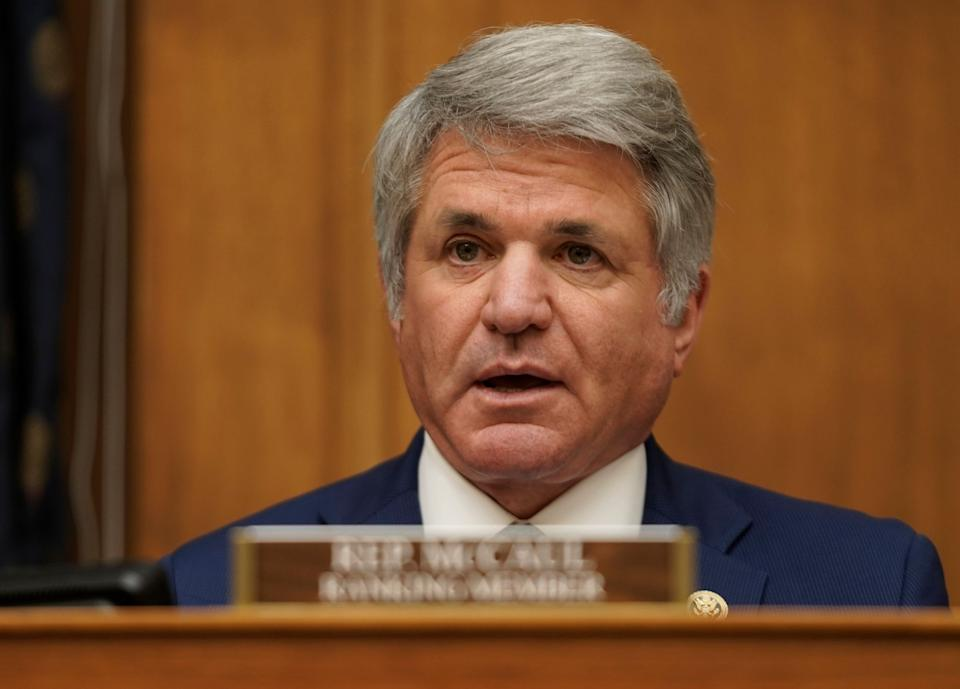 Rep. Michael McCaul (R-Texas) is the ranking member of the House Foreign Affairs Committee. (Photo: Pool via Getty Images)