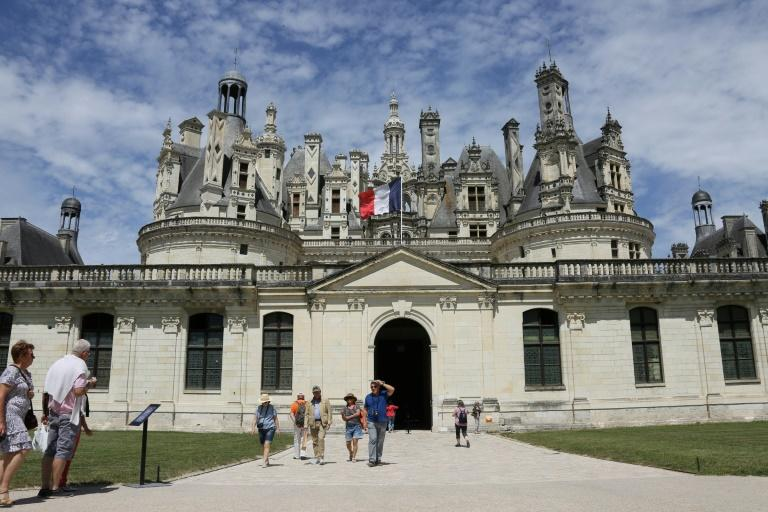 Macron has been criticised for spending his birthday at the chateau of Chambord in France's Loire Valley