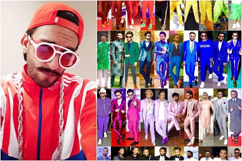 Ranveer Singh Throws a Multicoloured Shade Card, Which One Will You Pick?