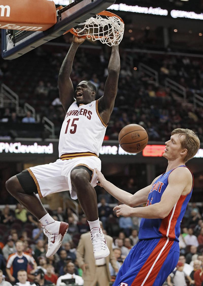 Irving scores 15 as Cavs down Pistons 96-84