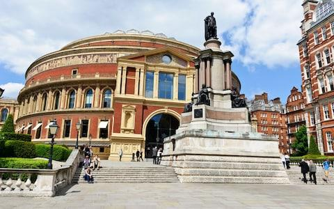 Royal Albert Hall where the celebrations will take place - Credit:  Mo Peerbacus / Alamy Stock Photo