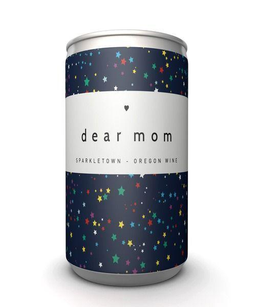 """<p><strong>Dear Mom</strong></p><p>dearmomwine.com</p><p><strong>$16.99</strong></p><p><a href=""""https://dearmomwine.com/pages/shopper"""" rel=""""nofollow noopener"""" target=""""_blank"""" data-ylk=""""slk:Shop Now"""" class=""""link rapid-noclick-resp"""">Shop Now</a></p><p>For the mom worth toasting: These cute cans of red, white, and sparking wine (as well as rosé), come from Dear Mom Wine Co., a Portland, Oregon-based brand that the founders, Robert Karmin and Jonathan Canter, started as a way to pay homage to their own moms. Even better? A portion of the proceeds are donated to a variety of charities that benefit moms locally and globally, including the <a href=""""https://thelovelandfoundation.org/"""" rel=""""nofollow noopener"""" target=""""_blank"""" data-ylk=""""slk:Loveland Foundation"""" class=""""link rapid-noclick-resp"""">Loveland Foundation</a>, <a href=""""https://www.sheshouldrun.org/"""" rel=""""nofollow noopener"""" target=""""_blank"""" data-ylk=""""slk:She Should Run"""" class=""""link rapid-noclick-resp"""">She Should Run</a>, and <a href=""""https://nwlc.org/about/"""" rel=""""nofollow noopener"""" target=""""_blank"""" data-ylk=""""slk:National Women's Law Center"""" class=""""link rapid-noclick-resp"""">National Women's Law Center</a>.</p>"""