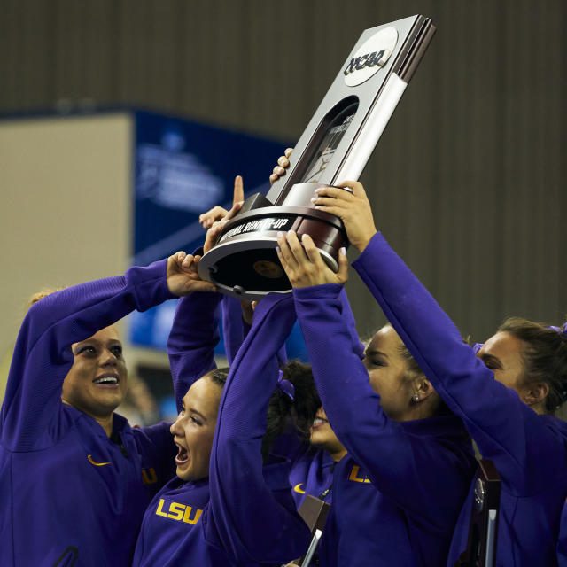 Best sport: women's gymnastics. Trajectory: up. The Tigers had their best year in a decade, bouncing back well after a disappointing 2017-18. They were national runner-up in women's gymnastics and scored well in track & field, but the revelation is the school's status as a rising beach volleyball power. LSU advanced further in that sport than any other school that doesn't actually sit within 15 miles of a beach. Men's basketball also had a strong-ass season, scoring more points than it had since 2006.