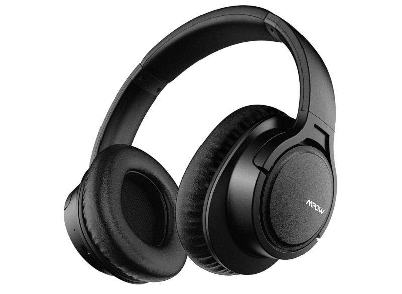 Mpow H7 Bluetooth Headphones Over-Ear. Image via Amazon.