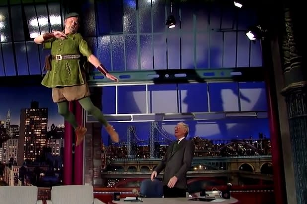 Bill Murray Sports Green Tights, Sings and Flies for NBC's 'Peter Pan' (Video)
