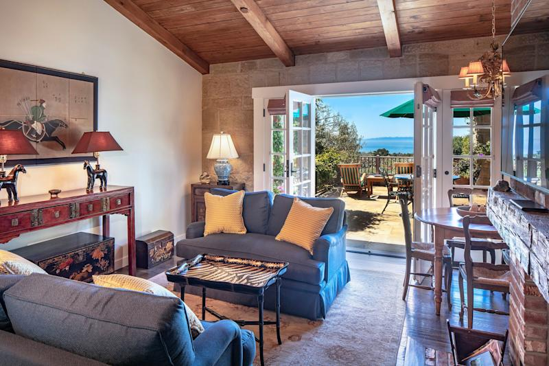 The property offers views of the Pacific Ocean and Channel Islands.