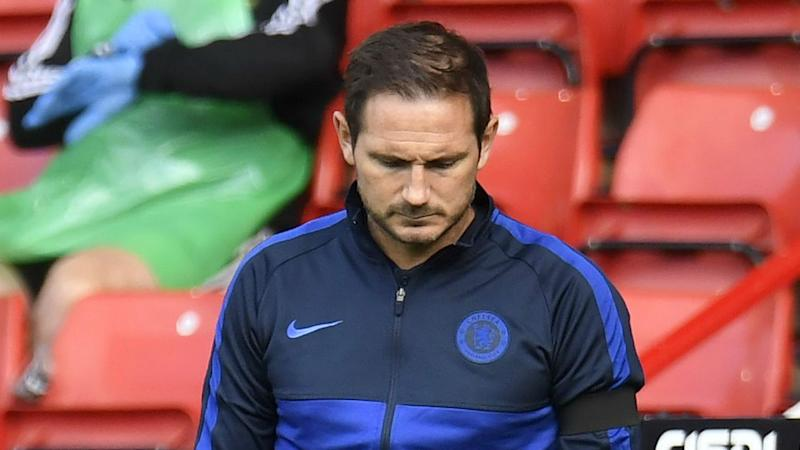 Lampard slams Chelsea approach but not concerned about possible drop to fifth