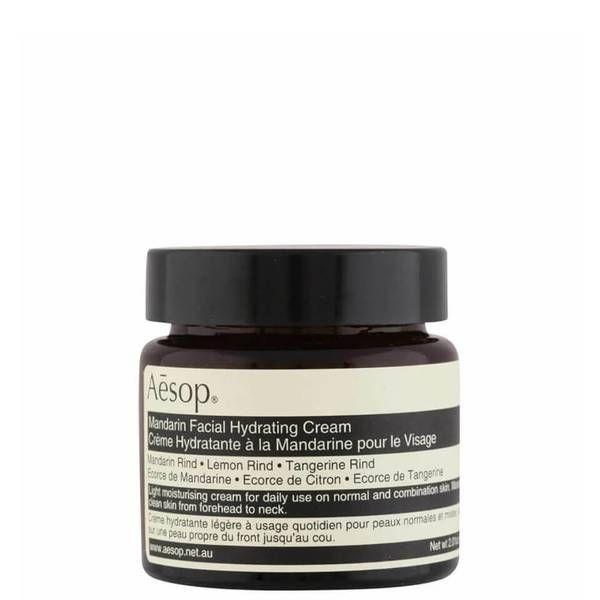 """<p><a class=""""link rapid-noclick-resp"""" href=""""https://www.johnlewis.com/aesop-mandarin-facial-hydrating-cream/p5035126"""" rel=""""nofollow noopener"""" target=""""_blank"""" data-ylk=""""slk:SHOP"""">SHOP</a></p><p><strong>Best moisturiser for oily skin</strong></p><p>Not only will this sleek packaging look good on your bathroom shelf, but the stuff inside works too. Our testers raved about how quickly it absorbed into skin, with it also scoring well in our lab test for hydration. The lightweight texture eliminated greasy t-zones and kept skin feeling fresh throughout the day. </p><p><strong>Key specs<br></strong><strong>Volume: </strong>120ml<br><strong>Contains SPF: </strong>No</p><p>Aesop Mandarin Facial Hydrating Cream, £37, Johnlewis.com</p>"""