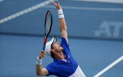 <span>Murray could now make an appearance at the Murray Trophy in Glasgow next month </span> <span>Credit: AP Photo </span>