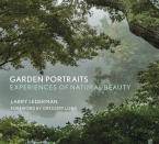 "This photo provided by The Monacelli Press shows the cover of the book ""Garden Portraits: Experiences of Natural Beauty,"" by Larry Lederman. (Larry Lederman/The Monacelli Press via AP)"
