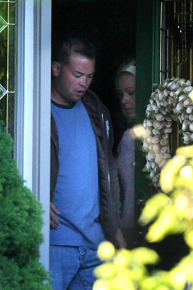 "Jon and Kate Gosselin were spotted together for the first time in months as they reunited for their sextuplet's sixth birthday. While Jon's still out of a job, Kate's new solo venture, ""Kate Plus 8,"" will premiere Sunday, June 6 on TLC. Sinky/Macca/<a href=""http://www.splashnewsonline.com"" target=""new"">Splash News</a> - May 10, 2010"
