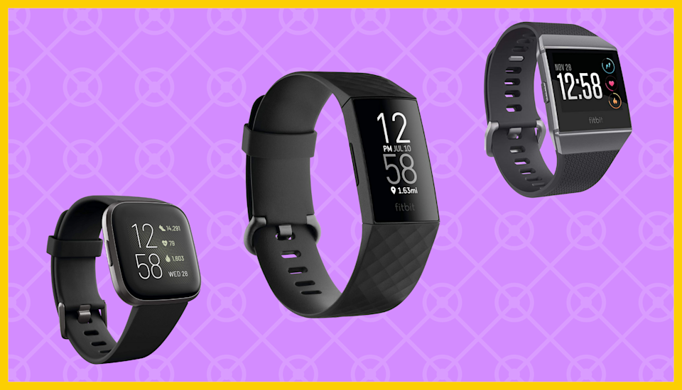 Amazon's Fitbit sale will keep you on track. (Photo: Amazon)
