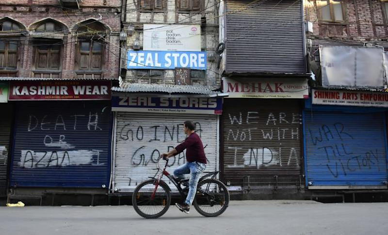 The ongoing situation in Kashmir has crippled businesses in the Valley in a way that traders are scared to leave their family behind till there is clarity on what is next for the Valley. Getty Images