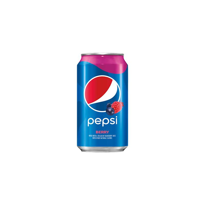 Pepsi® Berry: A splash of delicious berry juice paired with the bold and refreshing Pepsi you know and love