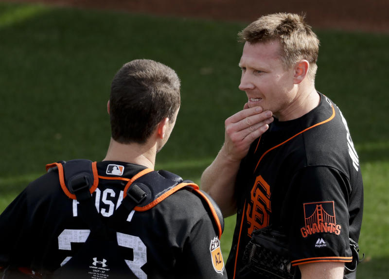 Giants' Mark Melancon: a closer who's open to sports science