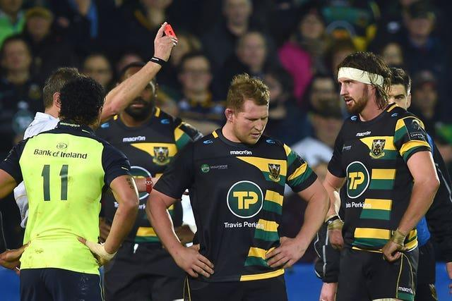 Dylan Hartley was no stranger to a red card during his career