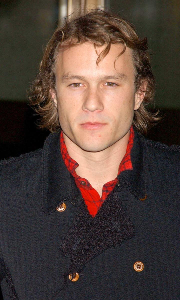 heath ledger in the early 2000s, male icon