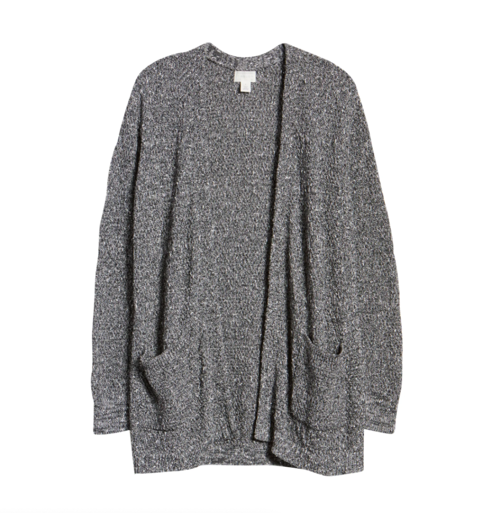 Marled Cardigan Sweater. Image via Nordstrom.