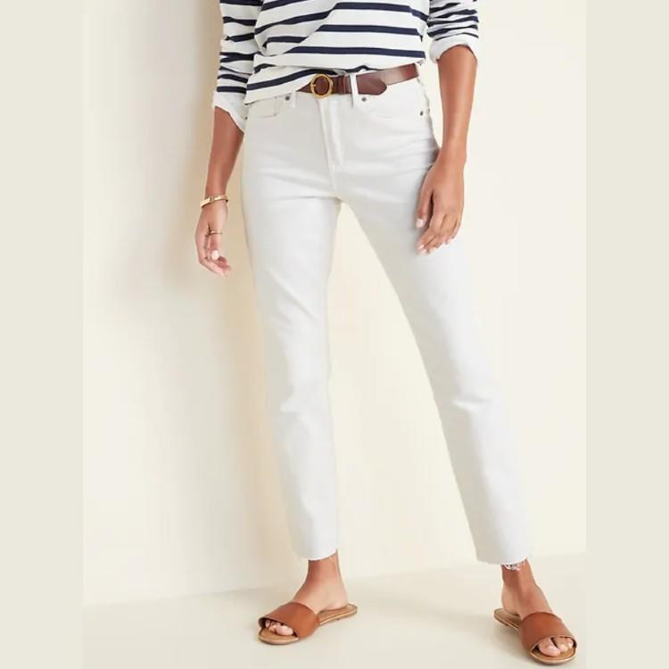 High-Waisted Power Slim Straight Jeans For Women. (Photo: Old Navy)