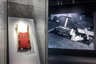 <p>Also in the Stories of Cinema section, the Rosebud sled from Orson Welles' <em>Citizen Kane.</em></p>