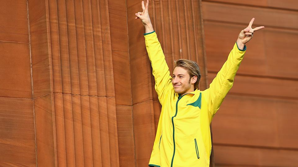 Matthew Mitcham officially retired from diving in 2016. (Photo by Mark Kolbe/Getty Images)