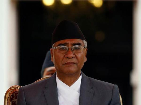 Nepal's newly sworn-in Prime Minister Sher Bahadur