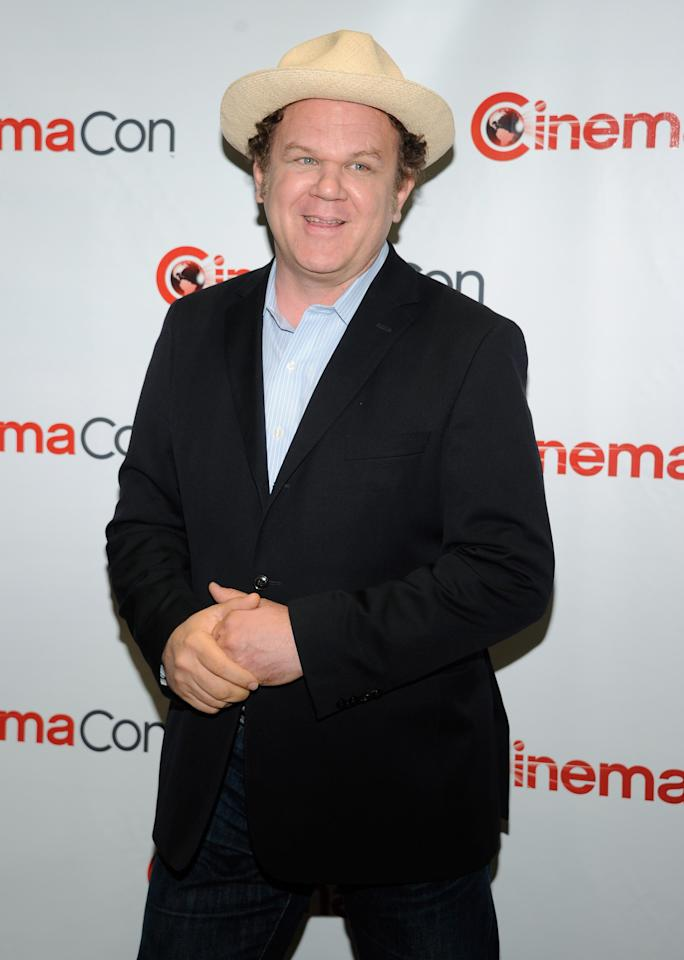 "LAS VEGAS, NV - APRIL 24:  Actor John C. Reilly arrives at a Walt Disney Studios Motion Pictures presentation to promote his upcoming animated film, ""Wreck-It Ralph"" at Caesars Palace during CinemaCon, the official convention of the National Association of Theatre Owners, April 24, 2012 in Las Vegas, Nevada.  (Photo by Ethan Miller/Getty Images)"