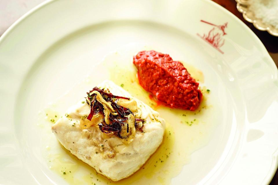 <p>Catalonian classic: the romesco sauce is the key to this dish</p> (rockfish.co.uk)