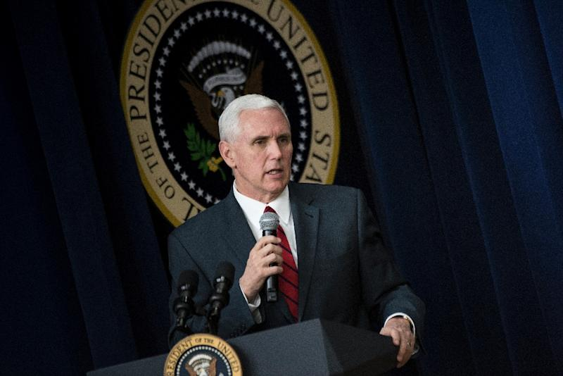 US Vice President Mike Pence's first visit to South Korea -- part of an Asia swing that also includes stops in Japan, Indonesia and Australia -- was conceived months ago, but could hardly come at a time of higher tension